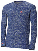 ADIDAS Mens Climawarm Long Sleeve BaseLayer Insulated Thermal Top - Size M - NEW