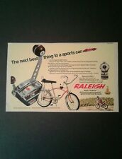 1968 Raleigh Fireball Twinshift 5 Kids Bicycles~Bikes Toy Memorabilia Trade Ad