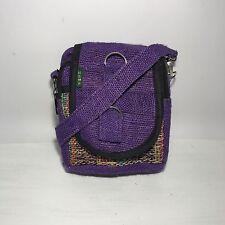 NEW Hemp Utility Boho Hippy Festival Shoulder Passport Bag Pouch Hippie