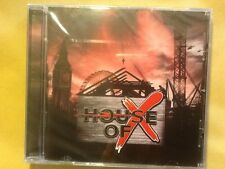 HOUSE.  OF.     X.                HOUSE. OF. X.            ESCAPE. MUSIC. LABEL.