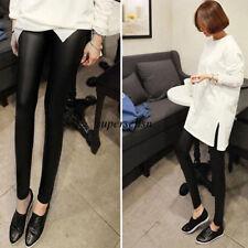 Women Summer Thin Skinny Leggings Elastic Waist Stretch Long Pants Trousers Hot