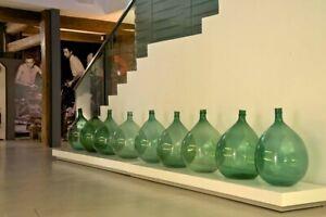 Damigiana da 54 litri vetro Verde Trasparente
