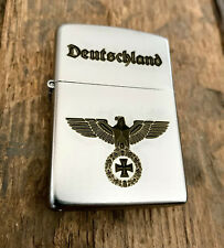 ZIPPO Wehrmacht DEUTSCHLAND Reichsadler - mit Wunschgravur KOSTENLOS !