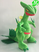 12'' Wow Pokemon Sceptile Plush Anime Stuffed Animal Doll Toy Game PNPL8393