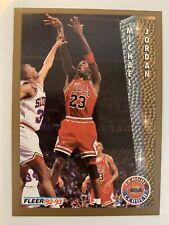 Fleer League Leader Michael Jordan 92-93 #238 Ungraded