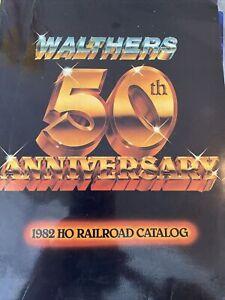 Walthers 50th Anniversary 1982 HO railroad catalog craft Train manual collectibl