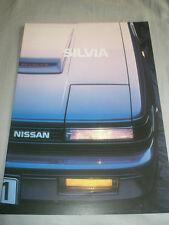 NISSAN SILVIA opuscolo Nov 1984 TESTO TEDESCO