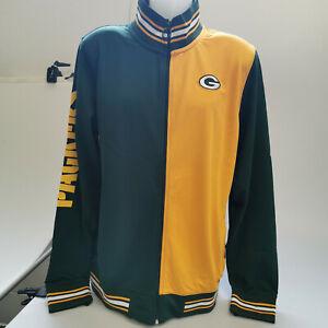 NFL Green Bay Packers Cu & Sew Track Jacket Neu Gr. S Trainingsjacke Herren