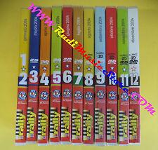 LOTTO 11 DVD RALLY SPRINT 2004 ACI SPORT volume 1/12 serie completa no vhs (D6)
