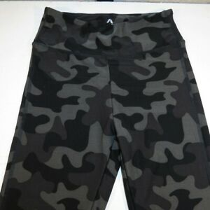 ATHLETIC COLLECTION YOGA PILATES WORK OUT LEGGINGS Sz Womens S Camouflage