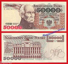 POLONIA POLAND 50000 Zlotych 1993 Pick 159  SC /  UNC
