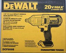 Dewalt DCF889B impacto de 20 voltios 1/2 W retén Pin Nuevo 2 días de envío