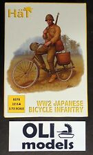 1/72 WWII Japanese Bicycle Infantry FIGURES SET - HaT 8278