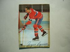 1966/67 POST CEREAL TIPS NHL HOCKEY PHOTO JACQUES LAPERRIERE