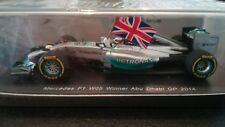 SPARK S3142 1/43 MERCEDES W05 LEWIS HAMILTON ABU DHABI GP 2014 WORLD CHAMPION