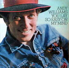 ANDY WILLIAMS - YOU LAY SO EASY ON MY MIND - COLUMBIA LP -  1974 - SEALED