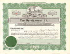 Winter Haven Florida New Development > land stock certificate share scripophily