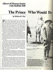 "Prince Albert of Monaco ""The Prince Who Would Be Mayor"""
