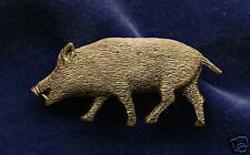 Empire Pewter Boar/ Hog Pewter Pin
