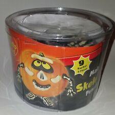 NEW Skeleton Mr Potato Head Pumpkin Push-Ins 9 Piece Set Halloween Decoration