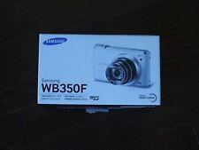 Unused Demo Samsung WB350F Smart 16.3MP CMOS Wi-Fi 21X Zoom Digital Camera Black