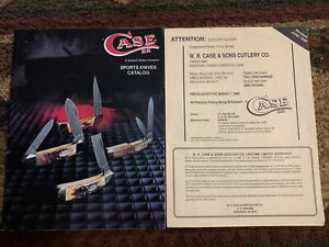 Case XX 1989 Knife Dealer Catalog And Price Guide