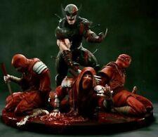Wolverine vs Ninjas Statue Sculpture Art Nt XM Sideshow Prime 1 Marvel X-Men