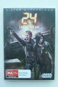 24 Live Another Day 4 Disc Set DVD - Kiefer Sutherland TV Mini-Series