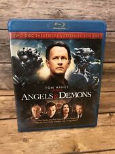 Angels & Demons (2-Disc Blu-ray Set, Theatrical & Extended Editions) No Digital