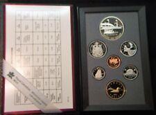 1991~~CANADA 7 piece DOUBLE DOLLAR PROOFLIKE SET~~PROOFLIKE-BU SILVER