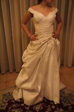 Vestito abito da sposa nuovo atelier italiano taglia 44 bianco Kristal's