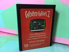 Worm War I (Atari 2600, 1982) Video game