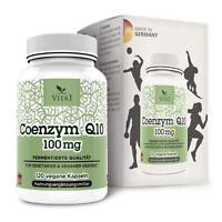 Coenzym Q10 hochdosiert 100mg 120 Kapseln Effekt von 100% natürlich Q10