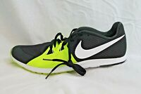 Nike Rival XC Cross Country Women's Running Spikes Black Yellow 10 MSRP $65 NEW