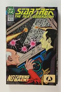 LOT of  NINE 1992-1993 STAR TREK THE NEXT GENERATION COMICS # 32, 41-48