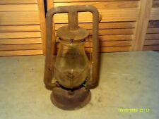 Vintage Dietz Kerosene Hanging Lantern New York Usa Barn lamp