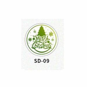 Christmas Merry Deer Retro Wax Stamp Brass Stamp Head Snowflake Pattern Decor