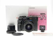 Mamiya 7 II Medium Format 120 Film Camera Body + 50mm f/4.5 Lens + View Finder