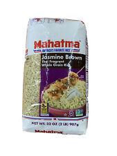 Mahatma Jasmine Brown Rice 32oz Thai Frag. Non GMO Exp2021