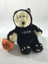 Starbucks Bearista Bear 2002 Halloween Cat with tags