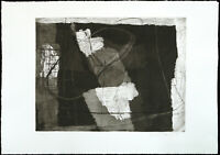 Kunst in der DDR, 1988. Radierung von Joachim BÖTTCHER (*1946 D), handsigniert
