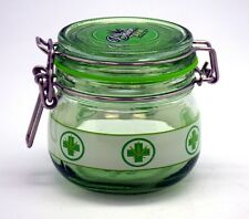 Medium Medical Marijuana Glass Dank Tank Silicone Sealed Jar Pot Weed Cannabis