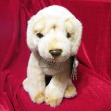 "NWT FAO Schwarz 10"" Golden Retriever Puppy Plush Stuffed Animal Dog"