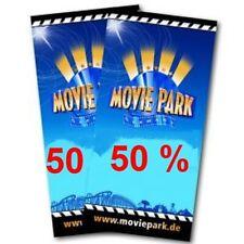 50% für 2 Ticket Movie Park Rabatt Gutschein online code Eintrittskarten online