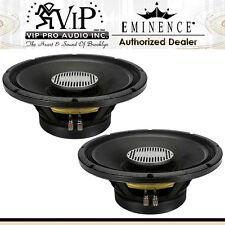 """Eminence Kilomax Pro-15A Pro 15"""" DJ/Club Subwoofer 2500W 8-Ohm Bass Speaker PAIR"""