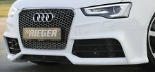 AUDI S5 A5 B8 Genuine Rieger Front Bumper Spoiler 2013+ Facelift Version NEW