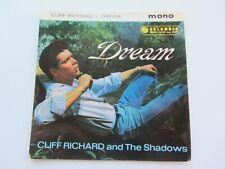CLIFF RICHARD  ORIGINAL  1961  UK E P   DREAM     EXCELLENT