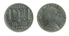 s289_57) ALBANIA Vittorio Emanuele III  (1939-1943) 0,2 LEK 1939