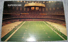 Vintage New Orleans SUPERDOME Football Stadium Postcard