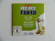 Ice Age   -  Fan CD  -  Arktischer Spielespass und vieles mehr  Ferrero  -